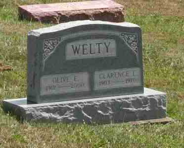WELTY, OLIVE - Richland County, Ohio | OLIVE WELTY - Ohio Gravestone Photos