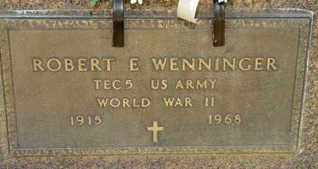 WENNINGER, ROBERT E - Richland County, Ohio | ROBERT E WENNINGER - Ohio Gravestone Photos