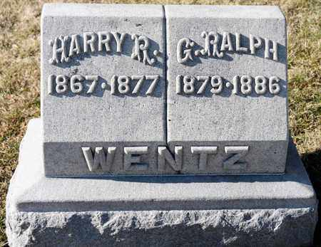 WENTZ, HARRY R - Richland County, Ohio | HARRY R WENTZ - Ohio Gravestone Photos