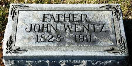 WENTZ, JOHN - Richland County, Ohio | JOHN WENTZ - Ohio Gravestone Photos