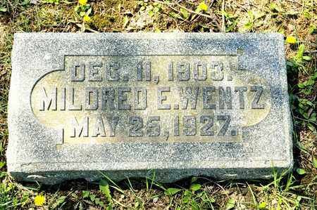 WENTZ, MILDRED E - Richland County, Ohio | MILDRED E WENTZ - Ohio Gravestone Photos