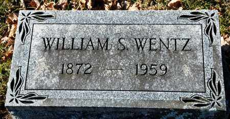 WENTZ, WILLIAM S - Richland County, Ohio | WILLIAM S WENTZ - Ohio Gravestone Photos