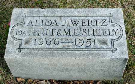 WERTZ, ALIDA - Richland County, Ohio | ALIDA WERTZ - Ohio Gravestone Photos