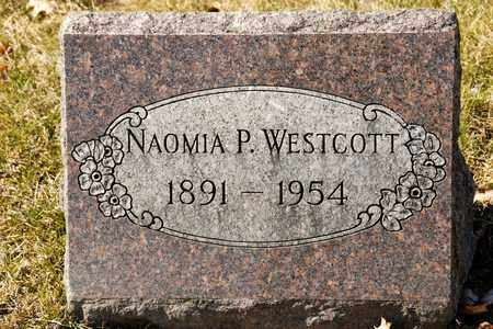 WESTCOTT, NAOMIA P - Richland County, Ohio | NAOMIA P WESTCOTT - Ohio Gravestone Photos