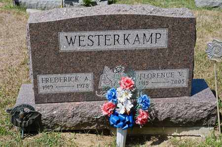 WESTERKAMP, FLORENCE V - Richland County, Ohio | FLORENCE V WESTERKAMP - Ohio Gravestone Photos