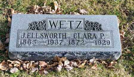 WETZ, J ELLSWORTH - Richland County, Ohio | J ELLSWORTH WETZ - Ohio Gravestone Photos