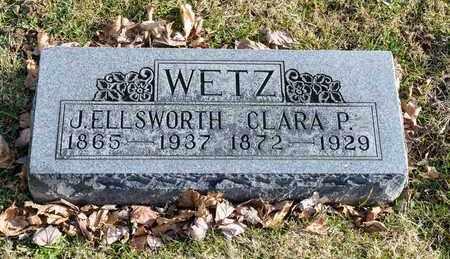 WETZ, CLARA P - Richland County, Ohio | CLARA P WETZ - Ohio Gravestone Photos