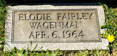 WGENMAN, ELODIE FAIRLEY - Richland County, Ohio | ELODIE FAIRLEY WGENMAN - Ohio Gravestone Photos