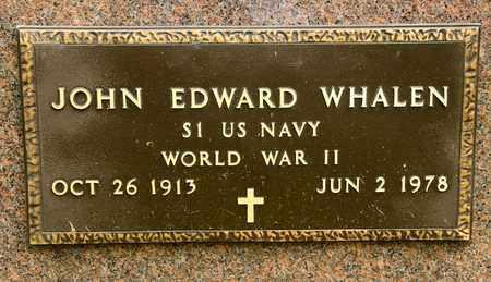 WHALEN, JOHN EDWARD - Richland County, Ohio | JOHN EDWARD WHALEN - Ohio Gravestone Photos