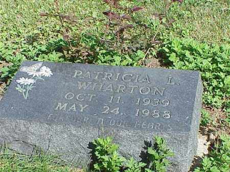 WHARTON, PATRICIA L. - Richland County, Ohio | PATRICIA L. WHARTON - Ohio Gravestone Photos