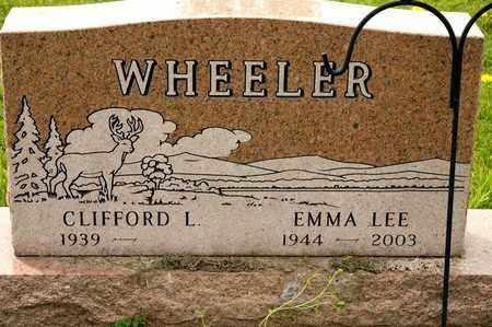 WHEELER, EMMA LEE - Richland County, Ohio | EMMA LEE WHEELER - Ohio Gravestone Photos