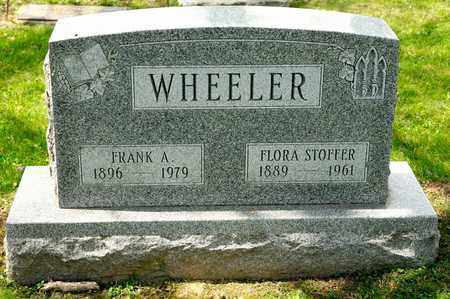 STOFFER WHEELER, FLORA - Richland County, Ohio | FLORA STOFFER WHEELER - Ohio Gravestone Photos