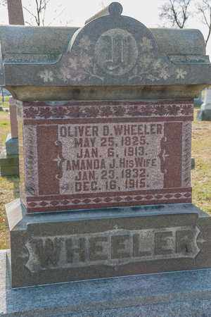 WHEELER, OLIVER D - Richland County, Ohio | OLIVER D WHEELER - Ohio Gravestone Photos