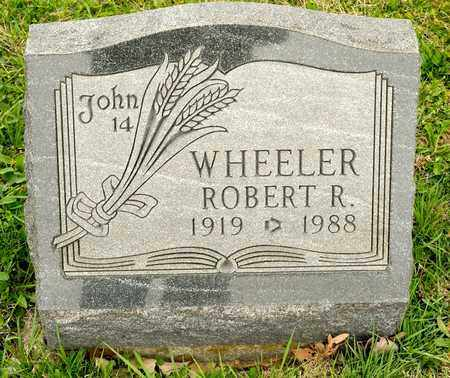 WHEELER, ROBERT R - Richland County, Ohio | ROBERT R WHEELER - Ohio Gravestone Photos