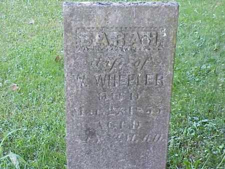 WHEELER, SARAH - Richland County, Ohio | SARAH WHEELER - Ohio Gravestone Photos