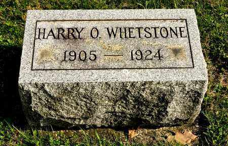 WHETSTONE, HARRY O - Richland County, Ohio | HARRY O WHETSTONE - Ohio Gravestone Photos