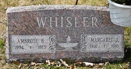 WHISLER, MARGARET J - Richland County, Ohio | MARGARET J WHISLER - Ohio Gravestone Photos