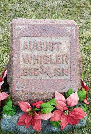 WHISLER, AUGUST - Richland County, Ohio | AUGUST WHISLER - Ohio Gravestone Photos