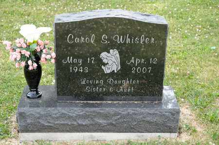WHISLER, CAROL S - Richland County, Ohio | CAROL S WHISLER - Ohio Gravestone Photos