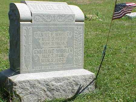 WHISLER, DANIEL F. - Richland County, Ohio | DANIEL F. WHISLER - Ohio Gravestone Photos
