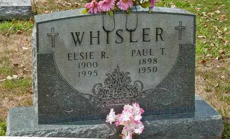 WHISLER, PAUL T - Richland County, Ohio | PAUL T WHISLER - Ohio Gravestone Photos