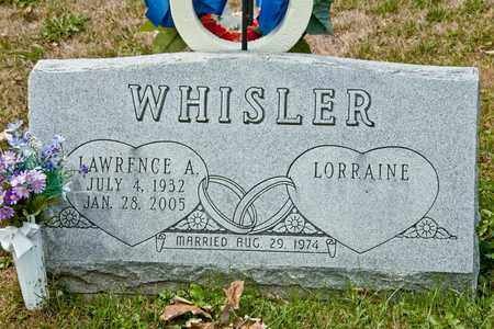 WHISLER, LAWRENCE A - Richland County, Ohio | LAWRENCE A WHISLER - Ohio Gravestone Photos