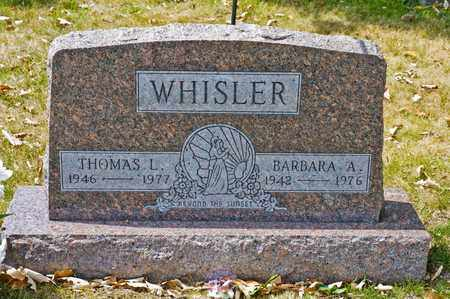 WHISLER, THOMAS L - Richland County, Ohio | THOMAS L WHISLER - Ohio Gravestone Photos