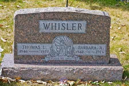 WHISLER, BARBARA A - Richland County, Ohio | BARBARA A WHISLER - Ohio Gravestone Photos