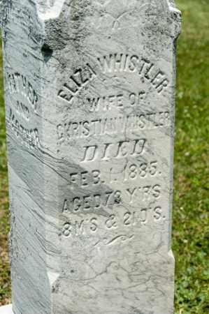 WHISTLER, ELIZA - Richland County, Ohio | ELIZA WHISTLER - Ohio Gravestone Photos