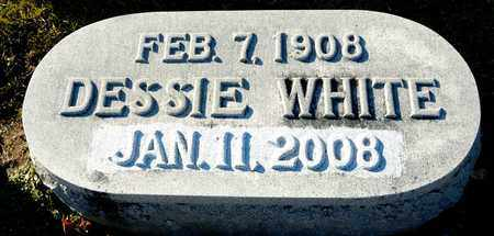 WHITE, DESSIE - Richland County, Ohio | DESSIE WHITE - Ohio Gravestone Photos