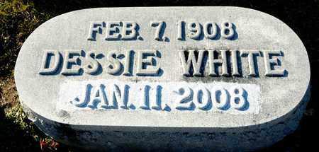 WHITE, DESSIE - Richland County, Ohio | DESSIE WHITE - Ohio Gravestone Photos