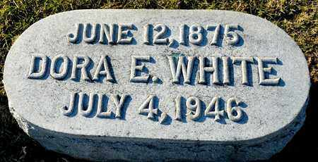 WHITE, DORA E - Richland County, Ohio | DORA E WHITE - Ohio Gravestone Photos