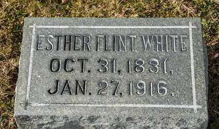 FLINT WHITE, ESTHER - Richland County, Ohio | ESTHER FLINT WHITE - Ohio Gravestone Photos