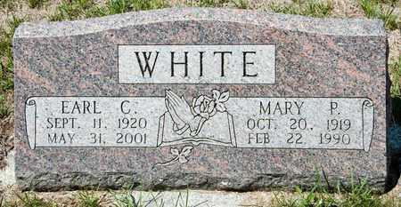 WHITE, MARY P - Richland County, Ohio | MARY P WHITE - Ohio Gravestone Photos