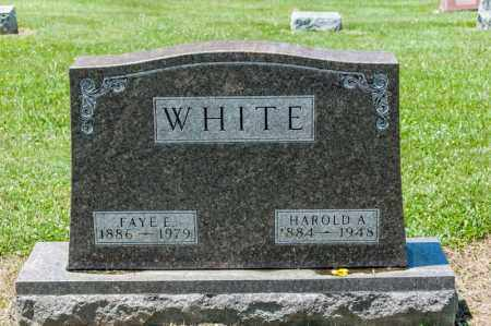 WHITE, HAROLD A - Richland County, Ohio | HAROLD A WHITE - Ohio Gravestone Photos