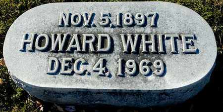 WHITE, HOWARD - Richland County, Ohio | HOWARD WHITE - Ohio Gravestone Photos