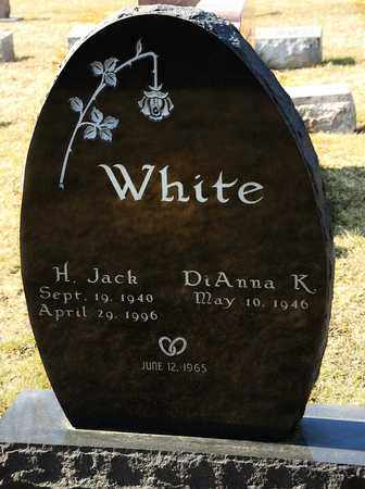 WHITE, H JACK - Richland County, Ohio | H JACK WHITE - Ohio Gravestone Photos