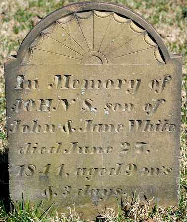 WHITE, JOHN S - Richland County, Ohio | JOHN S WHITE - Ohio Gravestone Photos