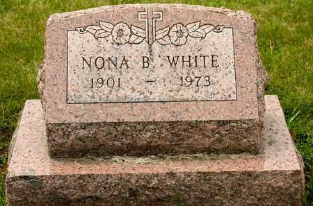 WHITE, NONA B - Richland County, Ohio | NONA B WHITE - Ohio Gravestone Photos