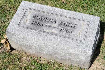 WHITE, ROWENA - Richland County, Ohio | ROWENA WHITE - Ohio Gravestone Photos