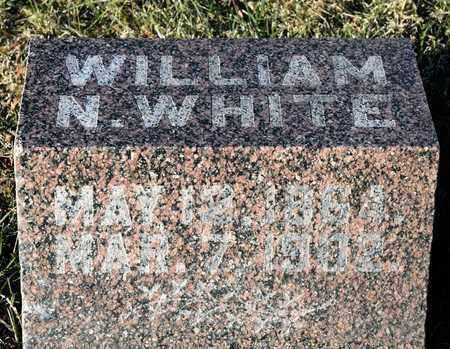 WHITE, WILLIAM N - Richland County, Ohio | WILLIAM N WHITE - Ohio Gravestone Photos