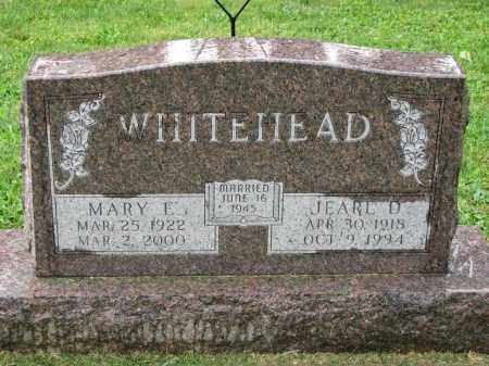 WHITEHEAD, JEARL D. - Richland County, Ohio | JEARL D. WHITEHEAD - Ohio Gravestone Photos