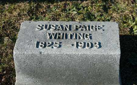 WHITING, SUSAN - Richland County, Ohio | SUSAN WHITING - Ohio Gravestone Photos