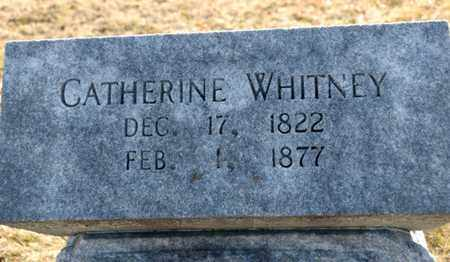WHITNEY, CATHERINE - Richland County, Ohio | CATHERINE WHITNEY - Ohio Gravestone Photos