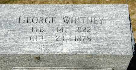 WHITNEY, GEORGE - Richland County, Ohio | GEORGE WHITNEY - Ohio Gravestone Photos