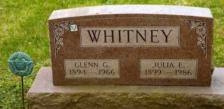 WHITNEY, GLENN G - Richland County, Ohio | GLENN G WHITNEY - Ohio Gravestone Photos