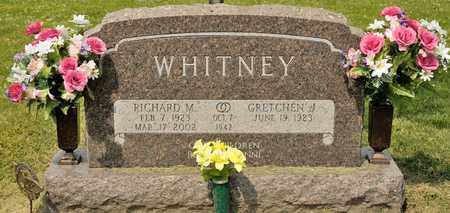 WHITNEY, RICHARD M - Richland County, Ohio | RICHARD M WHITNEY - Ohio Gravestone Photos
