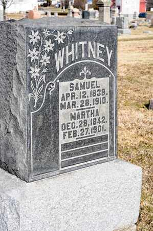 WHITNEY, MARTHA - Richland County, Ohio | MARTHA WHITNEY - Ohio Gravestone Photos