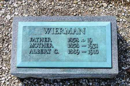 WIERMAN, MARY BERNICE - Richland County, Ohio | MARY BERNICE WIERMAN - Ohio Gravestone Photos
