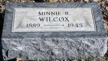 WILCOX, MINNIE B - Richland County, Ohio | MINNIE B WILCOX - Ohio Gravestone Photos